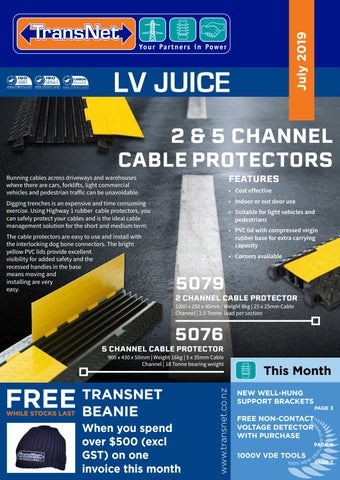 TransNet NZ Ltd LV Juice - July 2019
