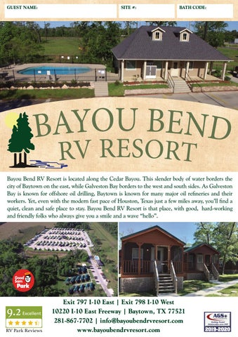 Bayou Bend RV Resort by AGS/Texas Advertising - issuu