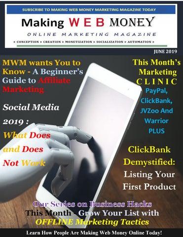 Making Web Money June 2019 by Harry Crowder - issuu