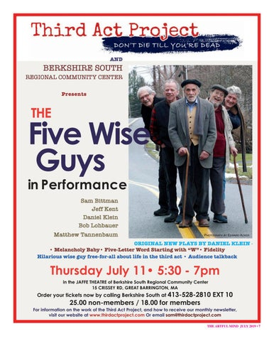 Page 9 of July 11  FIVE WISE GUYS