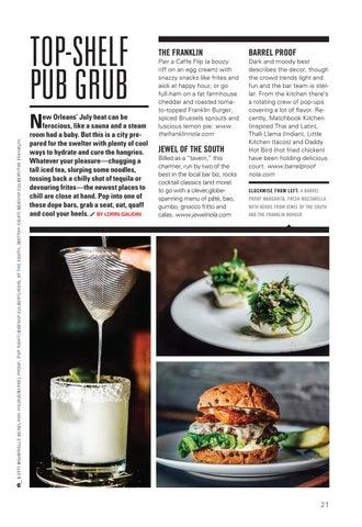 Page 23 of Top-Shelf New Orleans Pub Grub