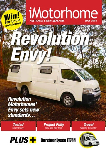 iMotorhome Magazine Aust & NZ Issue 127 – July 2018 by iMotorhome