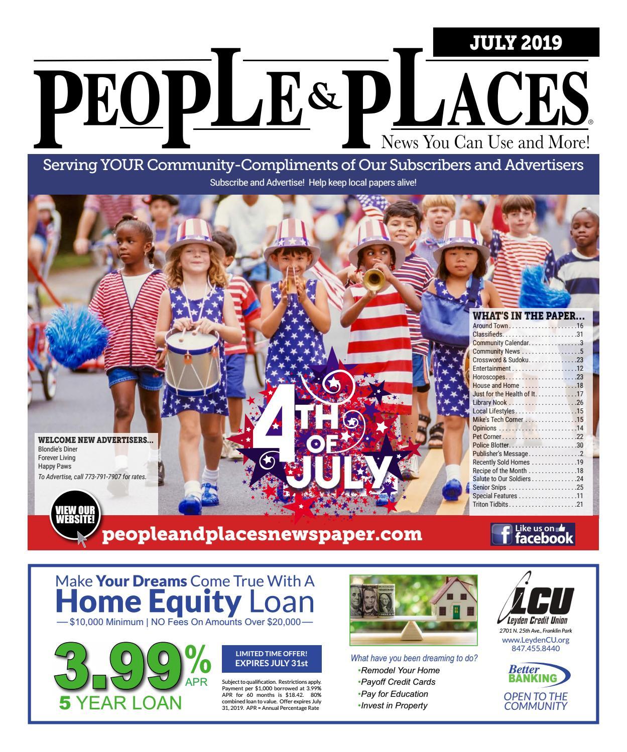 JULY 2019 People & Places Newspaper by Jennifer Creative - issuu