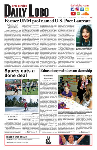Daily Lobo 07/01/19 by UNM Student Publications - issuu