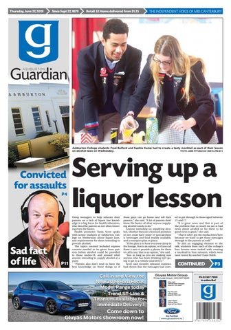 Ashburton Guardian, Thursday, June 27, 2019 by Ashburton