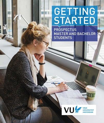 Getting Started, prospectus Vrije Universiteit Amsterdam by Vrije
