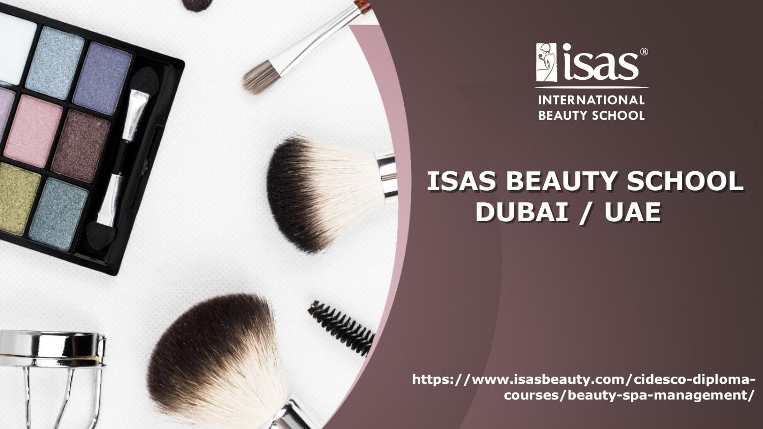 CIDESCO School of Beauty Therapy in Dubai - UAE by