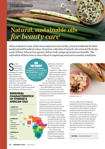 Page 26 of Natural, sustainable oils  for beauty care
