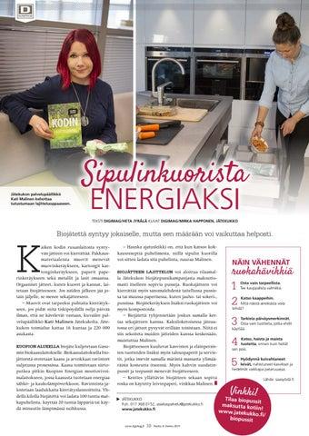 Page 10 of Sipulinkuorista energiaksi