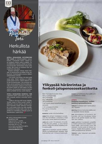 Page 22 of Herkullista härkää
