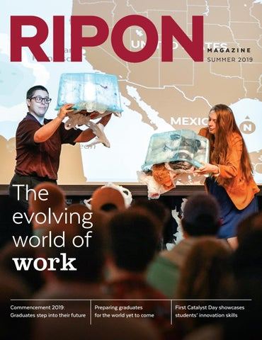 Ripon Magazine Summer 2019 by Ripon College - issuu