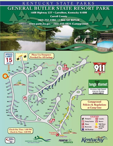 General Butler State Resort Park by AGS/Texas Advertising - issuu on boonesborough map, kentucky state park reservations, daniel boone national forest camping map, hoffmaster state park mi map, pennyrile ky map, state of california beaches map, kentucky bourbon distillers map, grayson lake bruin map, red river gorge camping map, kentucky bourbon trail map, tom sawyer park map, carter caves state park map, world's end state park map, michigan state park campgrounds map, green river ky fishing map, gulf state park camping map, wilderness state park campground map, land between the lakes camping map, long key state park campground map, mirror lake wi map,