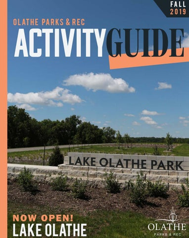 Olathe Parks & Rec Fall 2019 Activity Guide by Olathe Parks