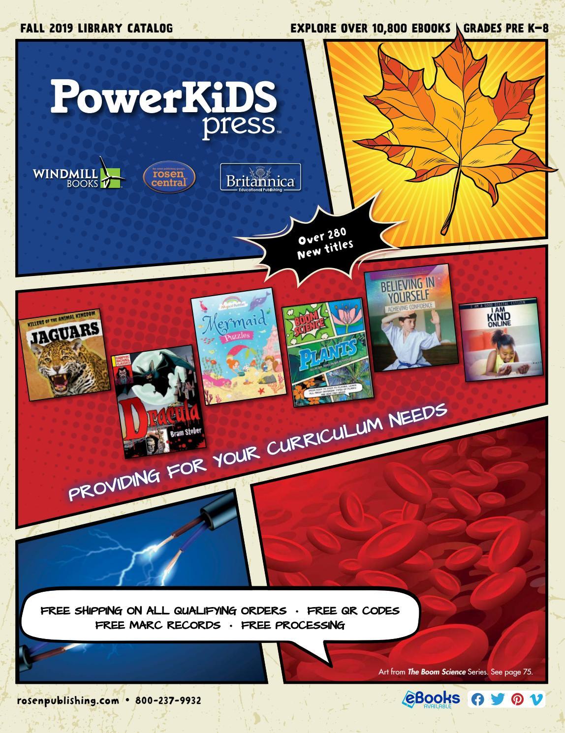 Powerkids Fall 2019 By Rosen Publishing Issuu