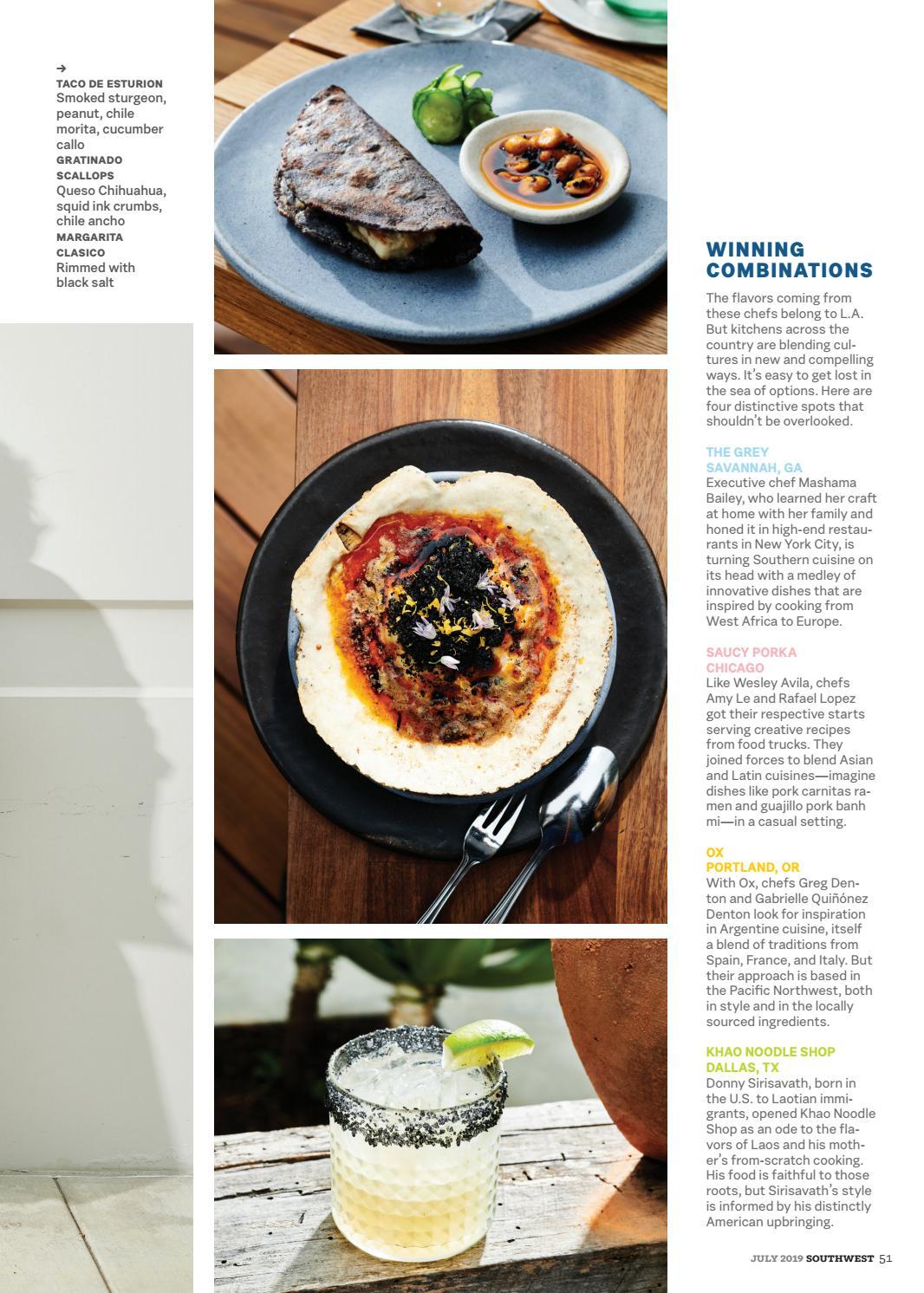 Inspiration Cuisine En U july 2019southwest: the magazine - issuu