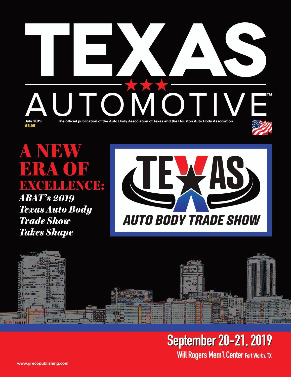 Texas Automotive July 2019 by Thomas Greco Publishing, Inc