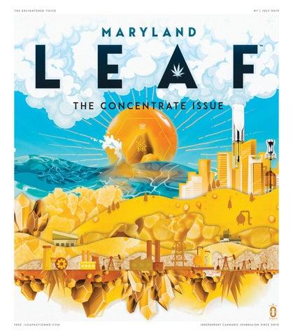 Maryland Leaf — July 2019 by Northwest Leaf / Oregon Leaf / Alaska