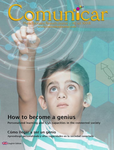 Comunicar 60: How to become a genius  Personalized learning and high