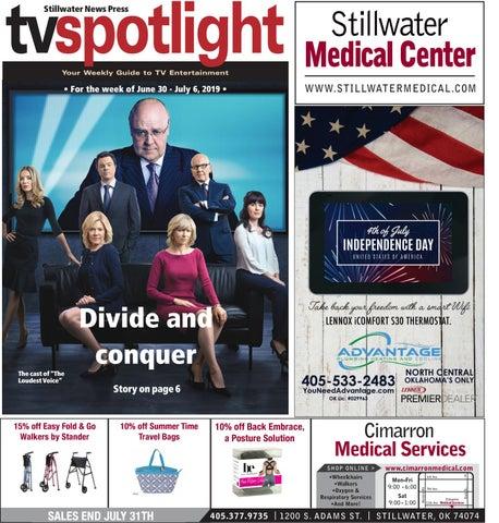 TV Spotlight 06-30-19 by Stillwater News Press - issuu