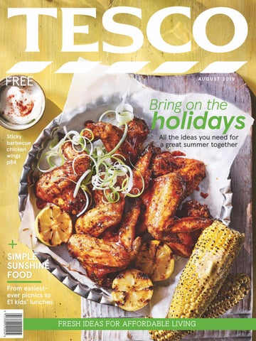 Tesco Magazine August 2019 By Tesco Magazine Issuu