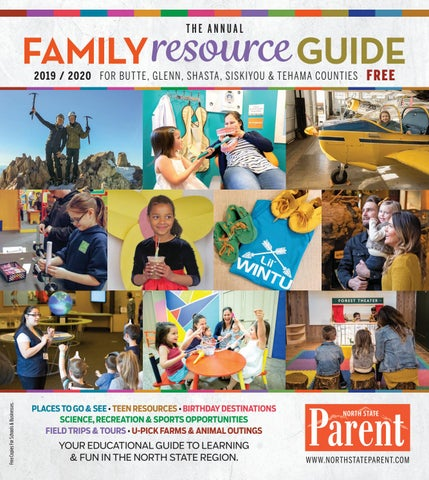 North State Parent Annual Family Resource Guide 2019/2020 by