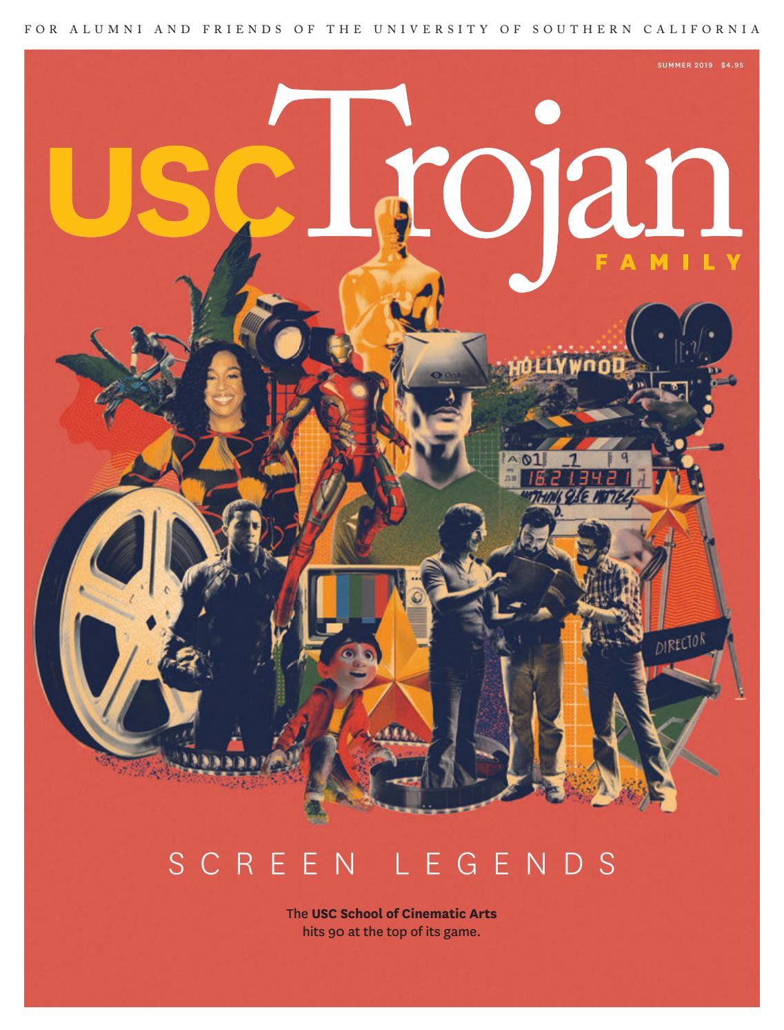 A Surprising Family Legacy Molecular >> Usc Trojan Family Magazine Summer 2019 By University Of