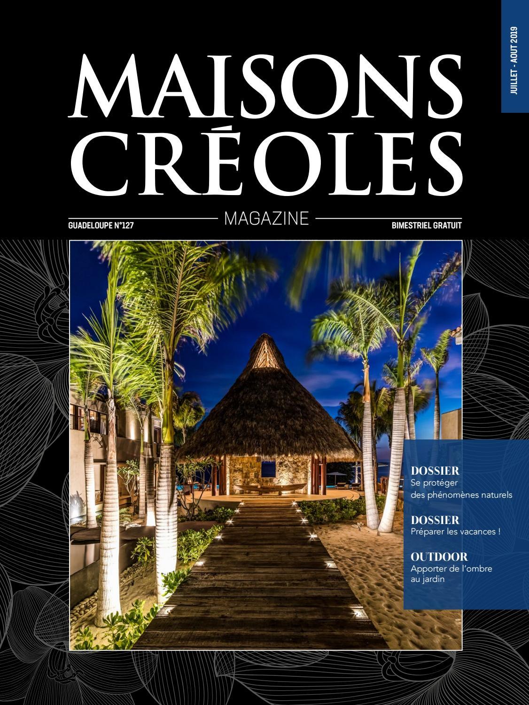 Magazine Maisons Créoles N°127 Guadeloupe by Magazine ...