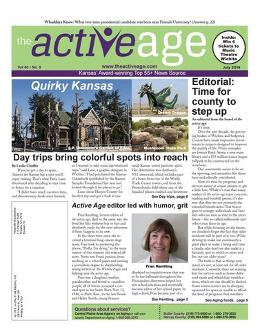 July 2019 by the active age - issuu