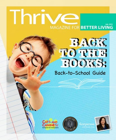 Thrive's July 2019 Issue by Thrive Magazine - issuu