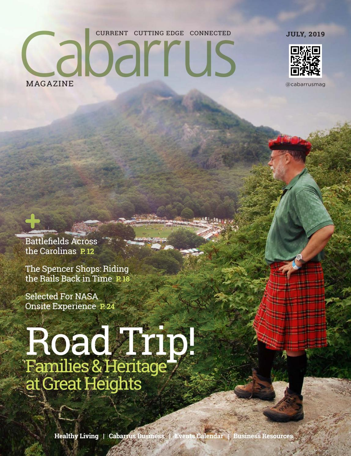 July 2019 Road Trip By Cabarrus Magazine Issuu