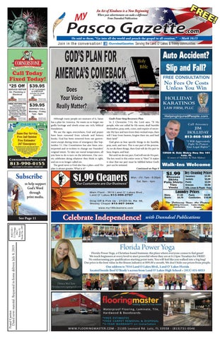 Pasco Gazette - July 2019 by Dunndeal Publications - issuu