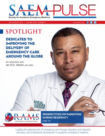SAEM PULSE July–August 2019 by Society for Academic Emergency