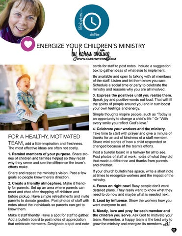 Page 33 of Energize Your Children's Ministry