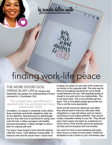 Page 36 of Finding Work-Life Peace