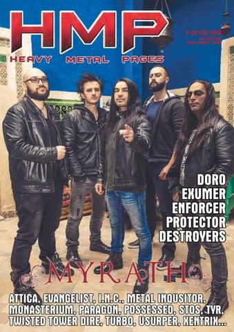 db656f0e Heavy Metal Pages 72 Myrath by Michal Mazur - issuu