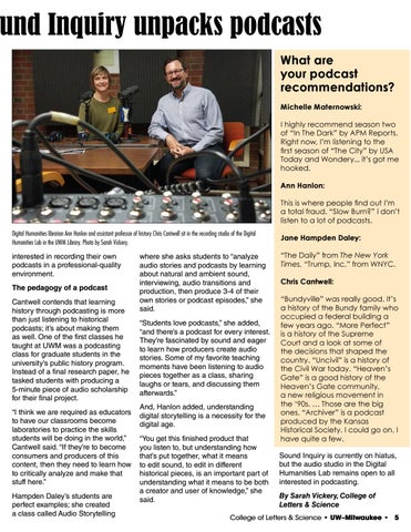 Page 5 of The changing sound of education: Sound Inquiry unpacks podcasts