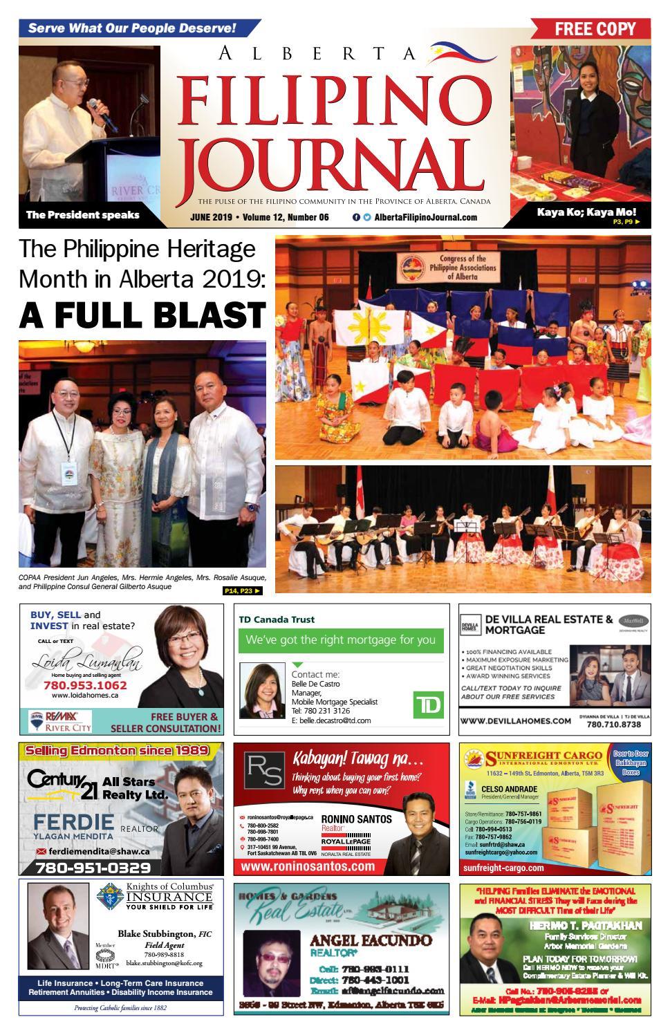Ang Kapitbahay 2003 Tagalog Movie alberta filipino journal - june 2019 issuealberta