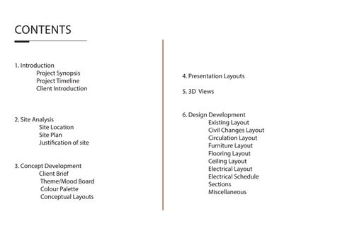 interior design graduation project presentation layout