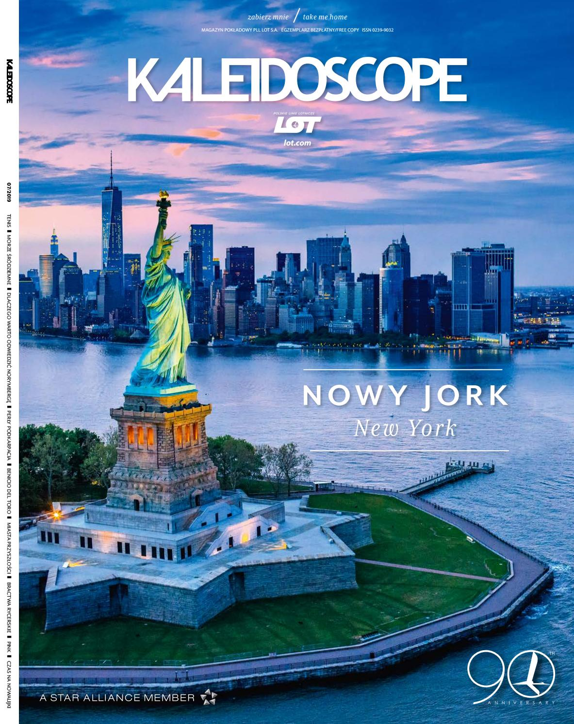 Kaleidoscope July 2019 By Lot Polish Airlines Issuu
