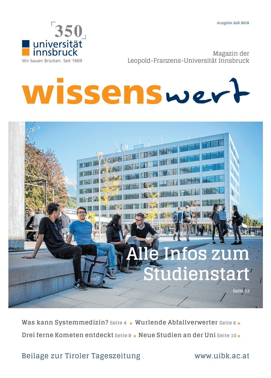 Startpaket Universitt Innsbruck