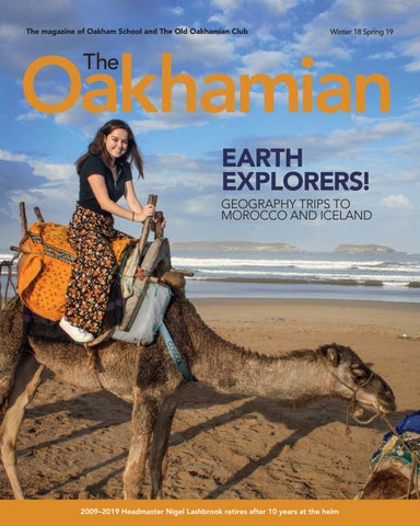 The Oakhamian - Winter 2018 Spring 2019 by Oakham School - issuu