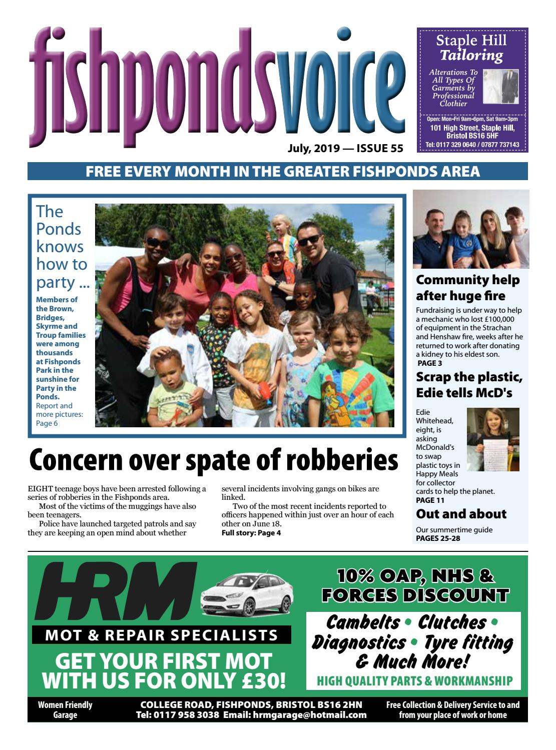 Fishponds Voice July 2019 by Fishponds Voice - issuu