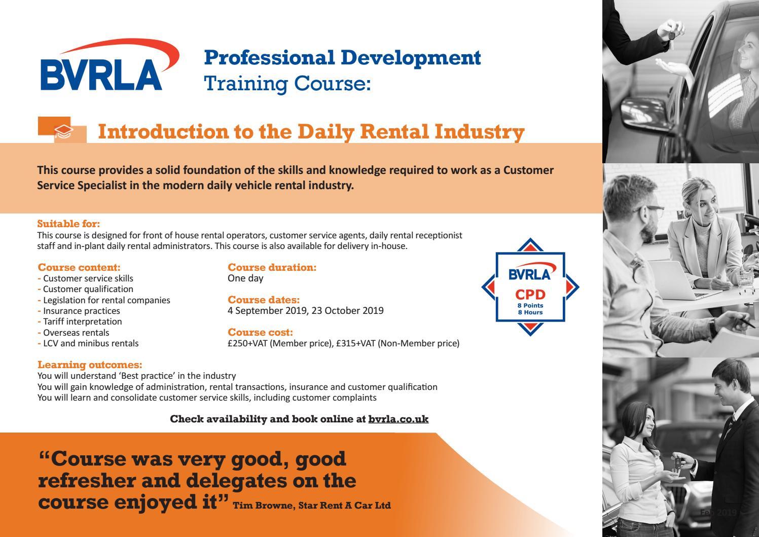 Bvrla Professional Development For Rental Members By Bvrla Issuu