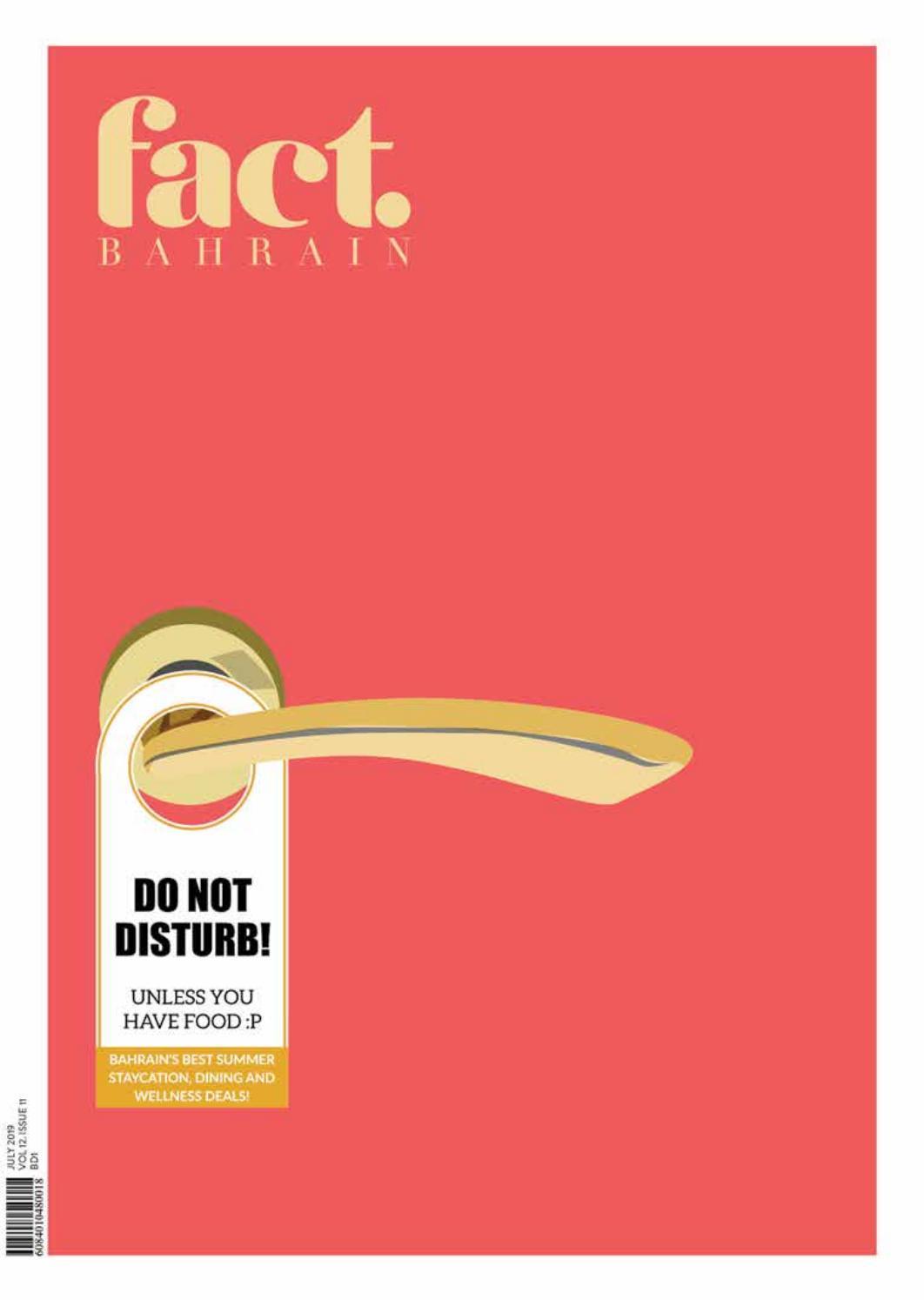 FACT Bahrain July 2019 by Fact Magazine - issuu