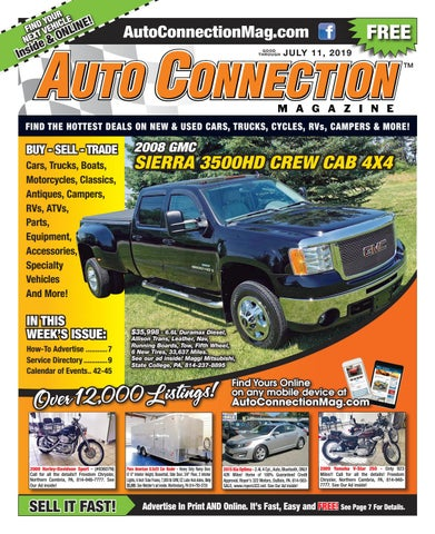 07-11-19 Auto Connection Magazine by Auto Locator and Auto