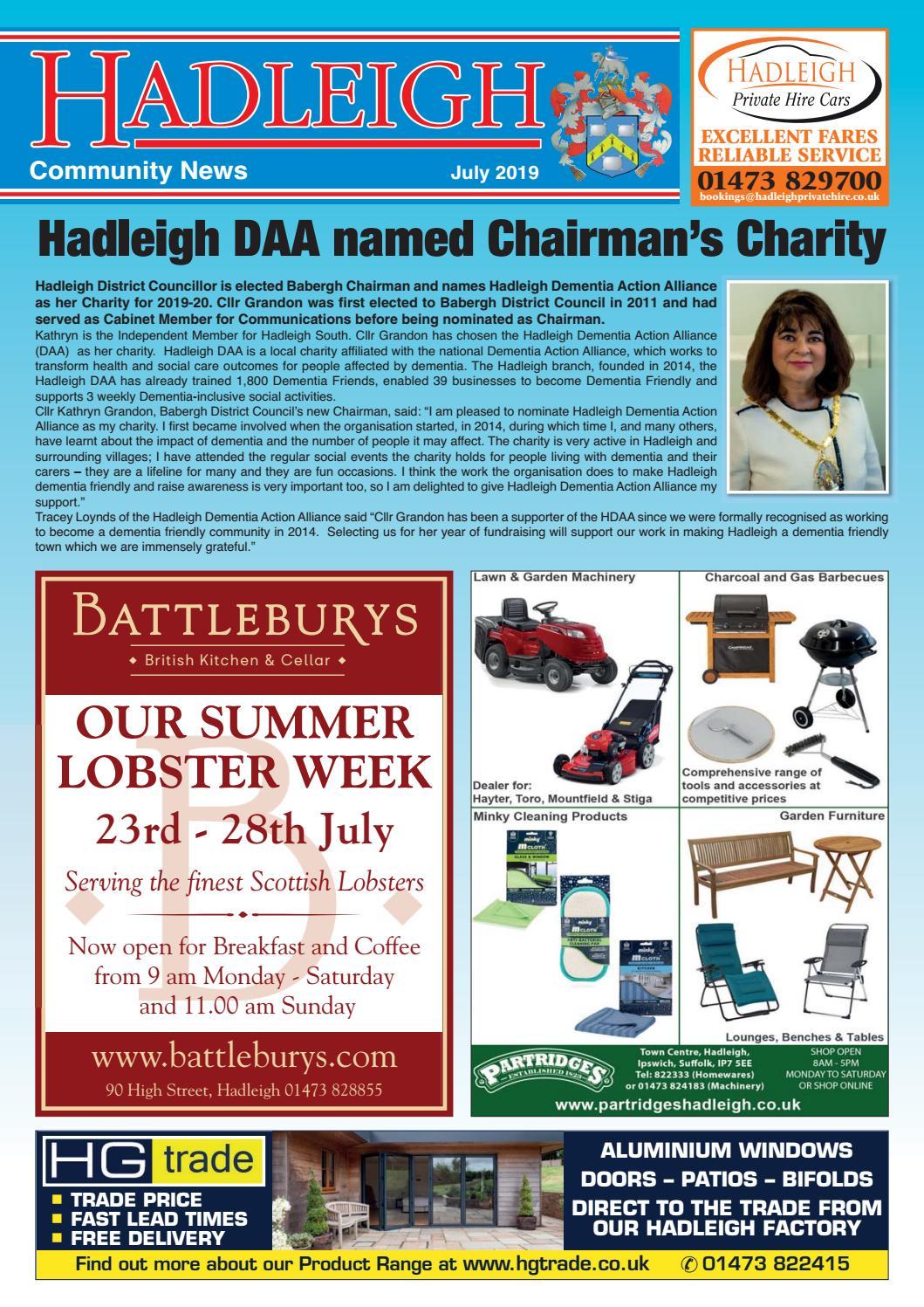 Hadleigh Community News, July 2019 by Keith Avis Printers