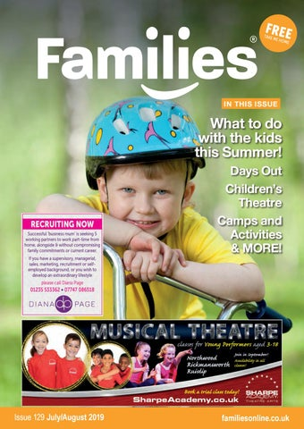 Families NW London Magazine issue 129 July/Aug 2019 by Heather