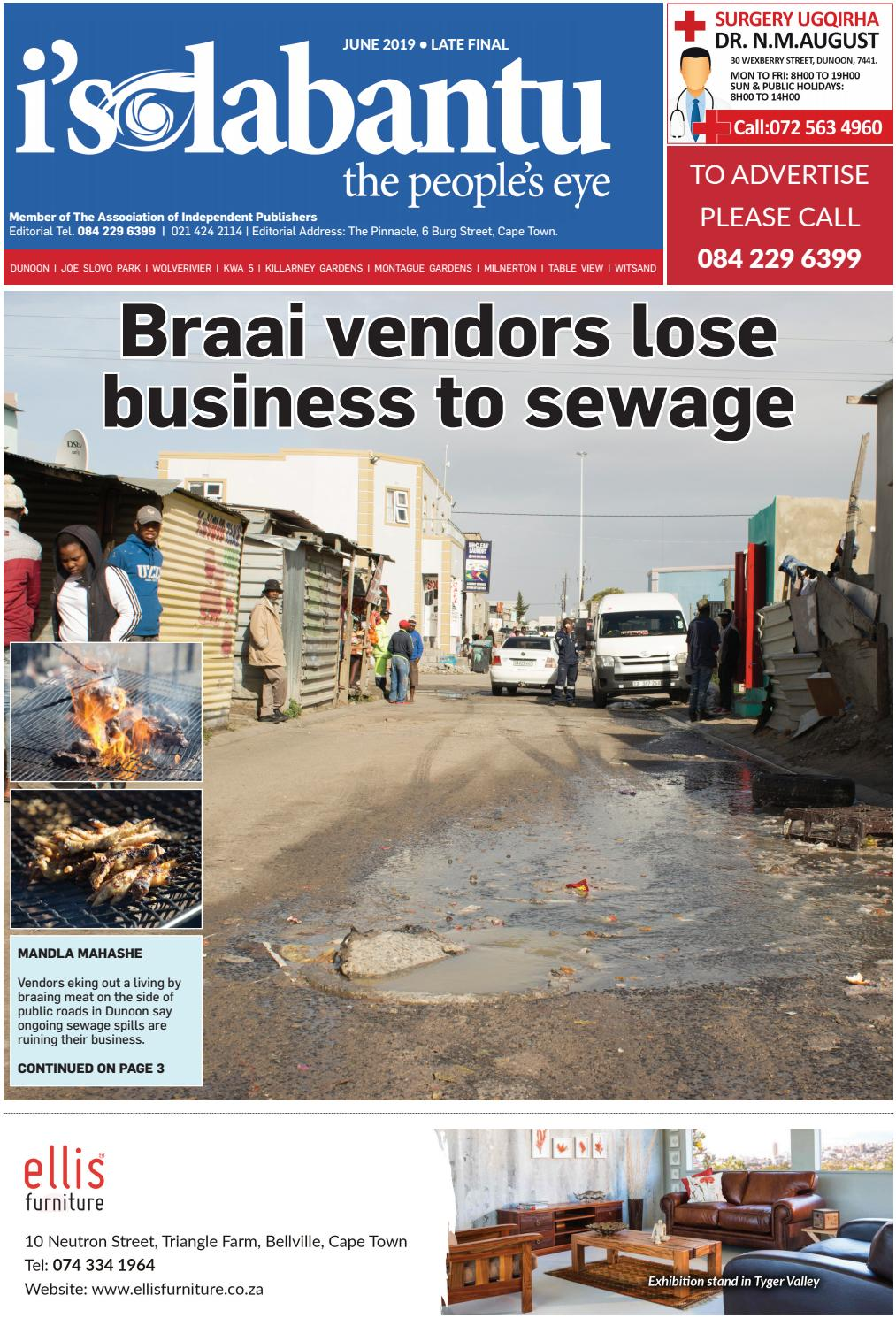Isolabantu News June 2019 late final edition by Isolabantu