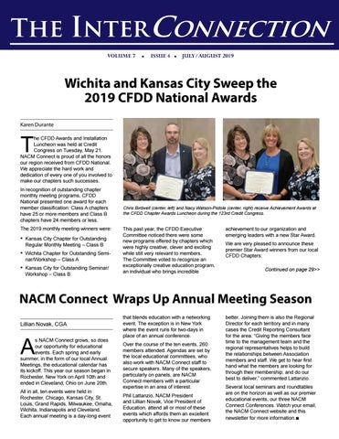 2019 July/August InterConnection Newsletter by NACM Connect