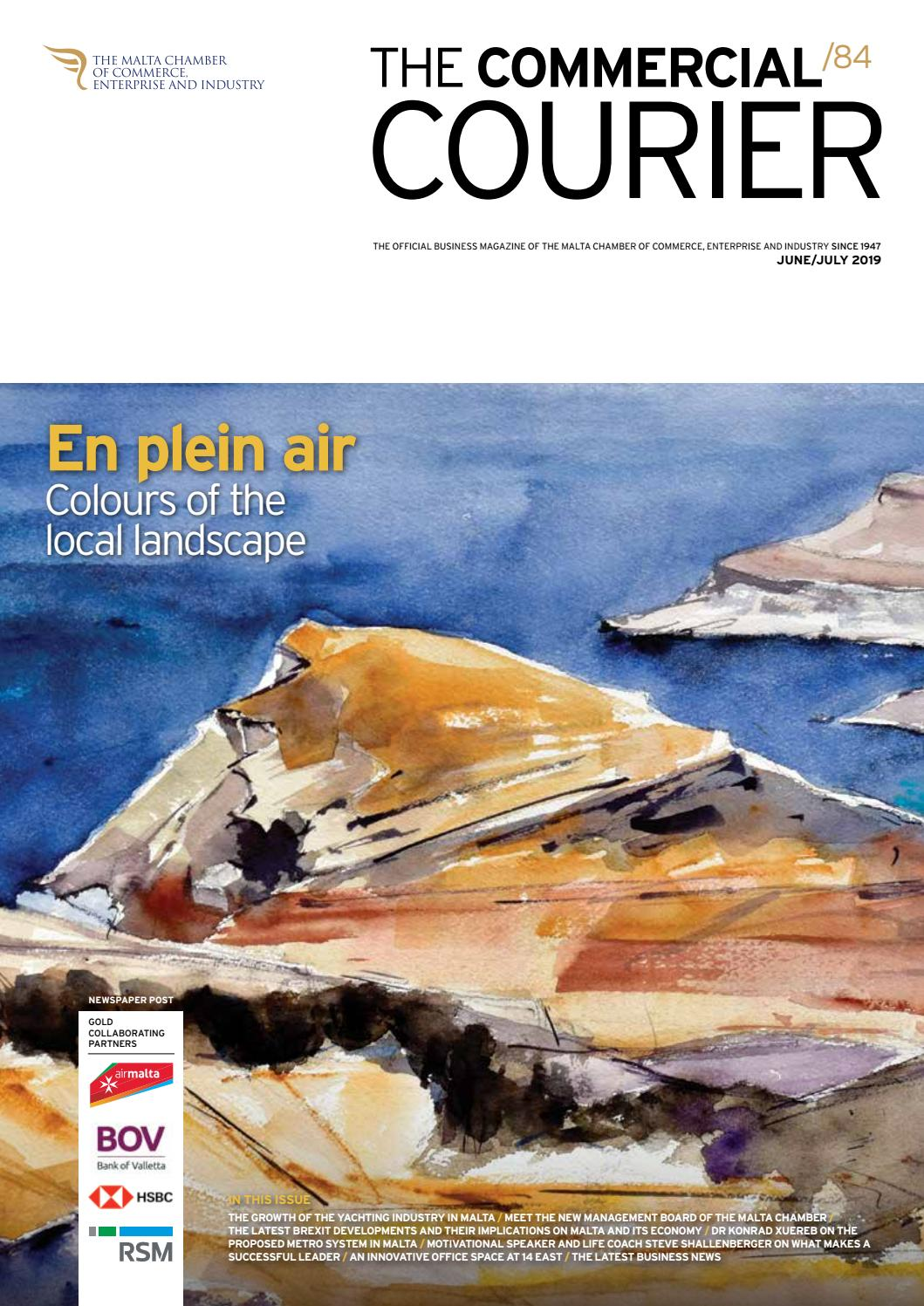 The Commercial Courier June/July 2019 by Content House Group